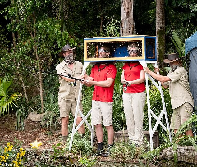 'ITV Studios Australia has been filming I'm A Celebrity… Get Me Out Of Here! in Northern NSW in accordance with Public Health Orders and restrictions, as well as its own comprehensive CovidSAFE plan, which is consistent with Screen NSW's guidelines for film and television production,' the spokesperson said