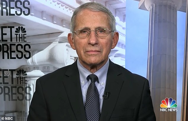 Dr Anthony Fauci assured Britons with the AstraZeneca jab will be vaccinated, allowing them into the US when travel restrictions are eased in November.