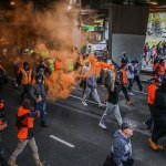 Waleed Aly unleashes at 'privileged' tradies causing chaos in Melbourne anti-vaxx protests 💥👩💥