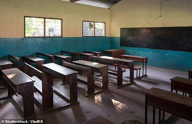 In Ubang in southern Nigeria, males speak one language and women speak another, though both are discouraged at the village school (stock image)