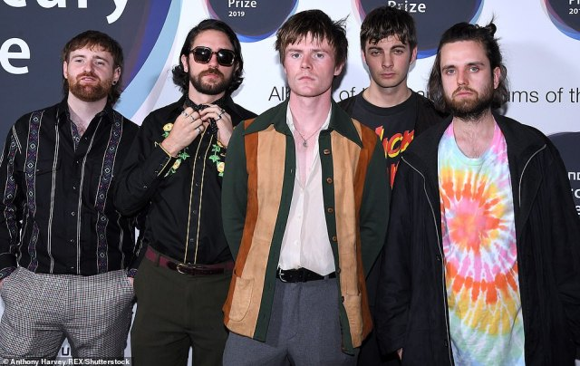 Awards: The Best Album accolade is up grabs by Fontaines D.C's (pictured) 'A Hero's Death', as well as Lianne La Havas's titular album, Pa Salieu's 'Send Them To Coventry'