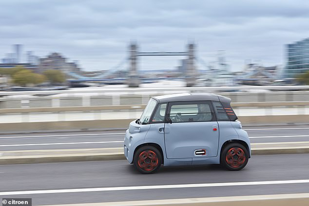 Even before arriving in the UK, the Citroen Ami has already won a clutch of honours – including at the GQ Car Awards 2021 and the Auto Express New Car Awards 2021