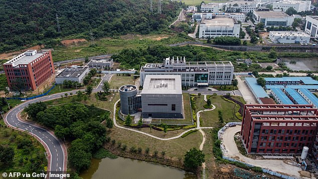Inconclusive reports on the origins of COVID-19 and mixed messages surrounding the virus and safety protocols have left Americans distrustful of public health agencies, according to Gottlieb (pictured:Wuhan Institute of Virology in Wuhan in China's central Hubei province on May 27, 2020)