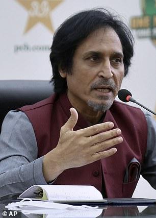 PCB chairman Ramiz Raja