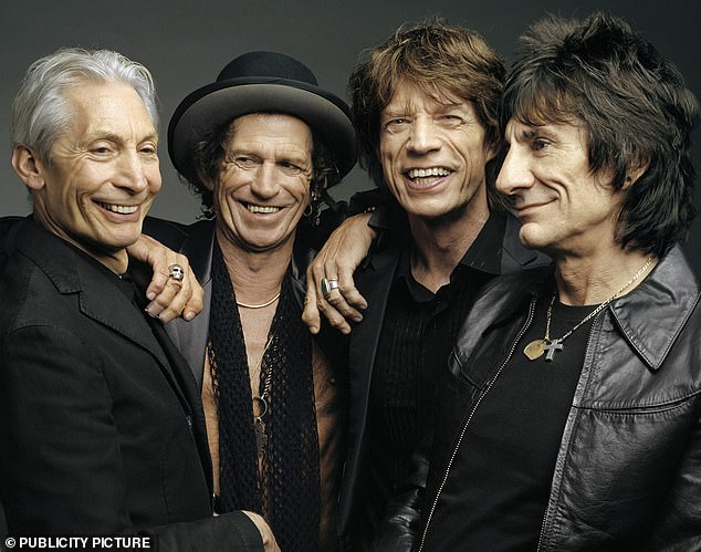 Charlie Watts (pictured with Keith Richards, Mick Jagger and Ronnie Wood) died in August at the age of 80