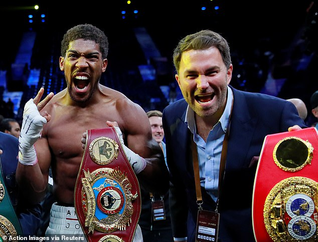 Anthony Joshua has signed a career-long promotional deal with Eddie Hearn and Matchroom