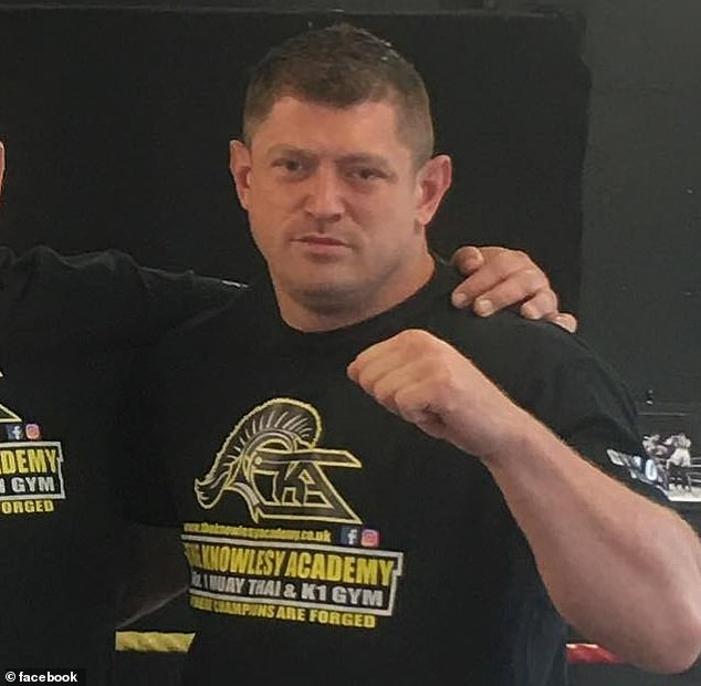 """Mr Watson, who is a semi-pro martial arts fighter, told the Sun: 'I just wanted to tell them, """"Don't stop me getting to work and doing my job"""""""