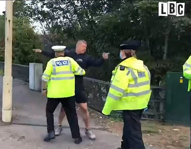 Self-employed Tom Watson, 37, was on his way back from a client's home on Monday when he became caught up in Insulation Britain's M25 protest