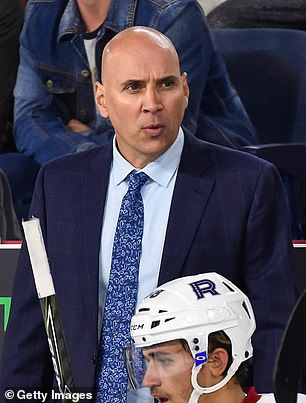 """Now-former Blue Jackets assistant coachSylvain Lefebvre was replaced on coach Brad Larsen's staff by Steve McCarthy because """"Lefebvre has decided not to receive a COVID-19 vaccine and thus will not be able to perform the duties required of him given current NHL protocols,"""" according to a team statement"""