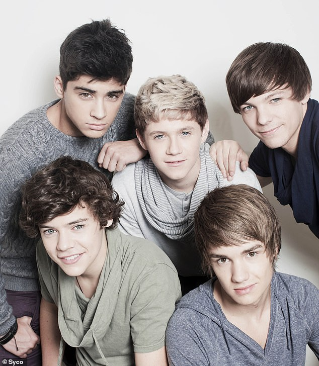 Iconic: One Direction was put together by Simon Cowell in 2010 after each member auditioned for The X Factor, but failed to make it as a solo act on the stage of Houses of Judges.