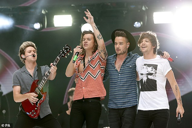Soldering On: After Zayn Malik left the group in 2015, One Direction released their fifth album as a foursome before going on hiatus (pictured in 2015)