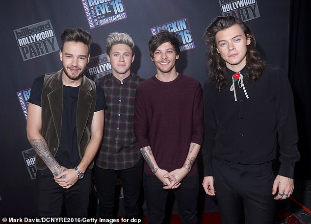 Q: The singer revealed that she spoke to her former bandmate Louis Tomlinson about the band's future after they entered an indefinite hiatus in 2016 (pictured in 2015)