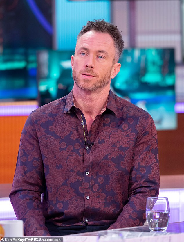 Explosive: James Jordan has claimed that Strictly Come Dancing stars who refuse the COVID vaccine should be removed from the show, as he called on BBC owners to name professionals.