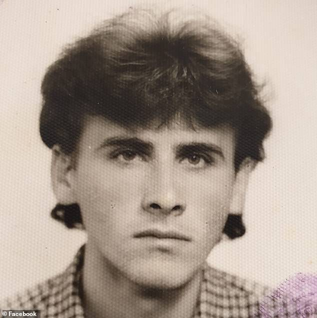 Mr Lujivic (pictured in his youth) has been remembered as 'an absolute gentleman' and great workmate to all who knew him over the years