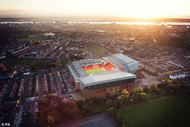 The move will make Anfield the third-largest Premier League ground for capacity