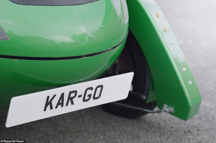 The Car-Go is a zero-emissions delivery vehicle, powered by electricity, and capable of speeds of up to 60 miles per hour.