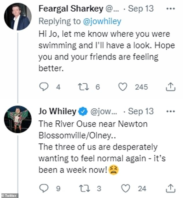 Joe confirms: 'The River Ouse near Newton Blossomville / Olney.  We all want to feel normal again'