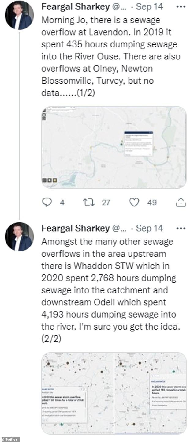 Helpful: Former Undertone singer Feargal Sharkey reached out to Joe on Twitter with helpful information