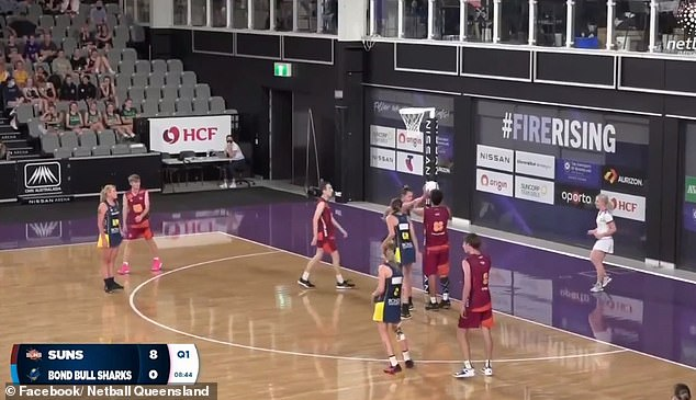 The Queensland Suns condemned the hostile reception after their Under 17s team beat the all-female Bond University Bull Sharks 46-12 at Brisbane's Nissan Arena