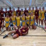 Queensland Suns Under 17s netball hit back after 46-12 thrashing over Bull Sharks rivals 💥👩💥