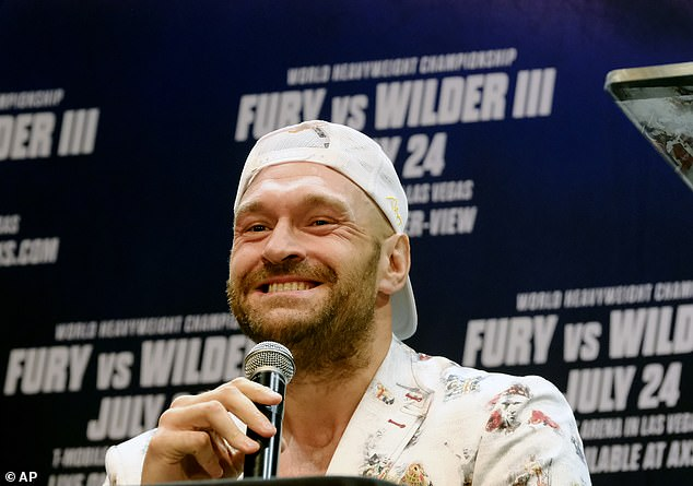Tyson Fury reveals he is delaying receiving his second COVID-19 vaccine until after October