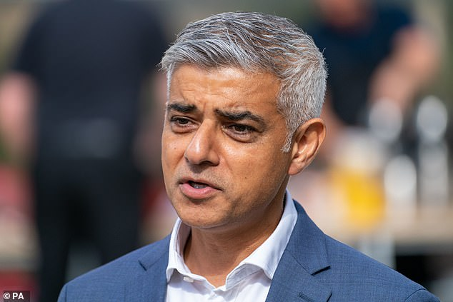 Mr Khan called violence against women and girls an 'epidemic' and called on men to be 'allies'