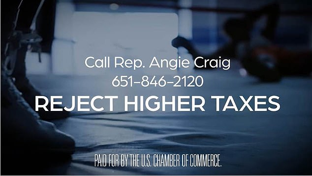 Each 30-second ad displays grim media reports on the state of the US economy and encourages voters to call their representatives