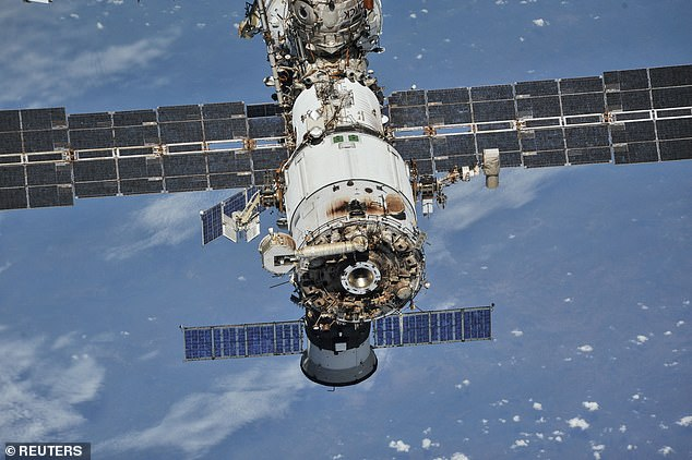 NASA says cracks in the $150 billion (£109 billion) laboratory pose no threat to astronauts