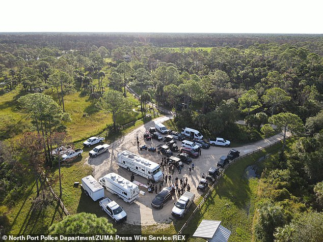 Law enforcement are on their fifth day in the search for Brian Laundrie in the vast Carlton Reserve in Sarasota, Florida