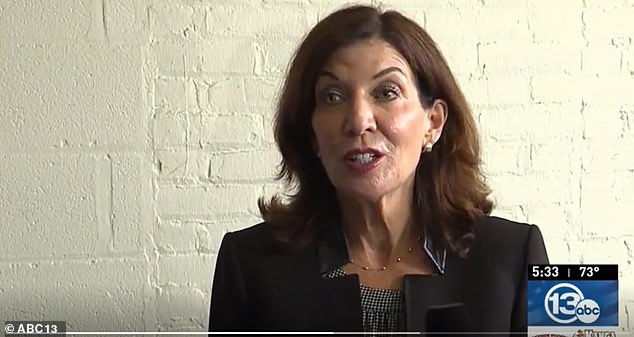 New York Governor Kathy Hochul said she is not budging on a vaccine mandate for healthcare workers and vowed to those who do not get the shot by the September 27 deadline that 'we will be replacing people.'