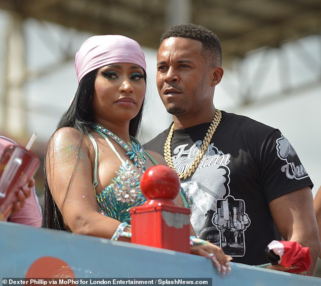 , Nicki Minaj debuts new pink streak just a day after victim of her sex offender husband speaks out, The Today News USA