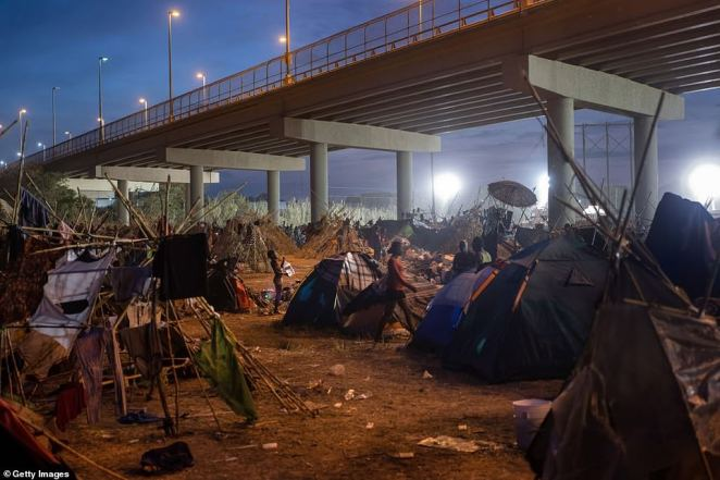 Nearly 15,000 mostly Haitian migrants have assembled around and under a bridge in Del Rio, Texas, a town of only 35,000 people