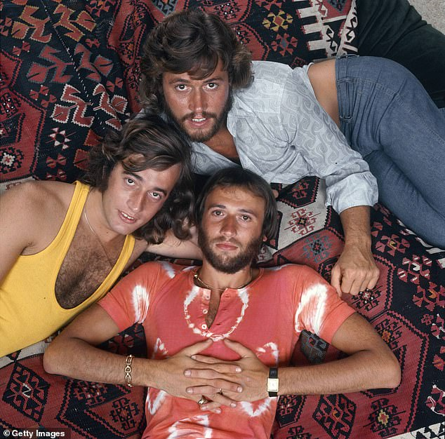 As the son of a Bee Gee, (pictured, the group in 1972) RJ knows he will be under special scrutiny from the music industry and audiences when he launches himself into the limelight