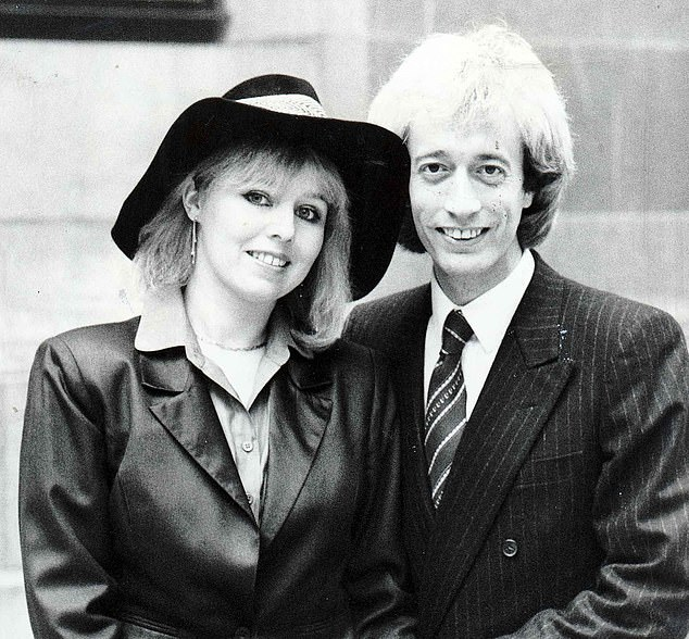 Dwina Waterford was married to Bee Gees singer Robin, who died in May 2012, for 32 years