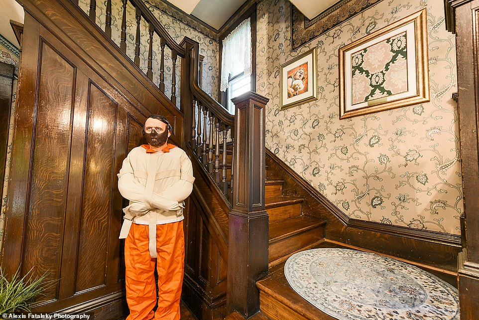 Public: The newly renovated Queen Anne Victorian located in Perryopolis, Pennsylvania, officially opened on Labor Day weekend, 30 years after it was featured in the thriller