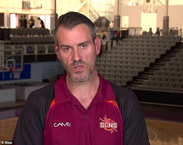 Queensland Suns president Steve Curr praised the team for their composure despite the hostility from the spectators