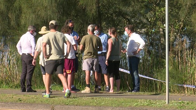 She had been with a group of friends of a boat on Narrabeen Lake on the Northern Beaches when she fell from the vessel about 1.20pm on Friday