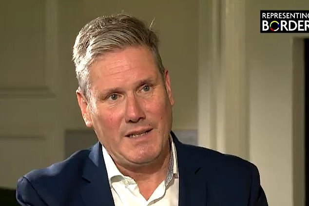 Sir Keir Starmer is facing a storm today after backing Scotland's controversial move to 'go soft' on drugs possession