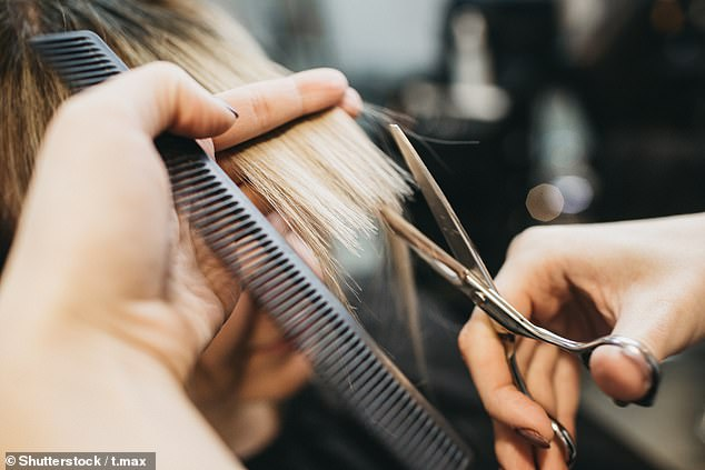 Despite her instructions, the salon cut off too much hair with court documents saying they left 'only 4-inch from the top touching her shoulder' (stock image)