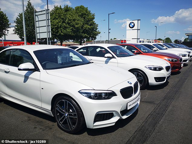 Pricey option: BMW is now the most popular car for new drivers under 25