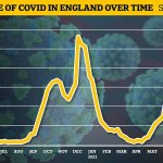 England's Covid outbreak shrunk by 11% last week, official data shows 💥👩💥