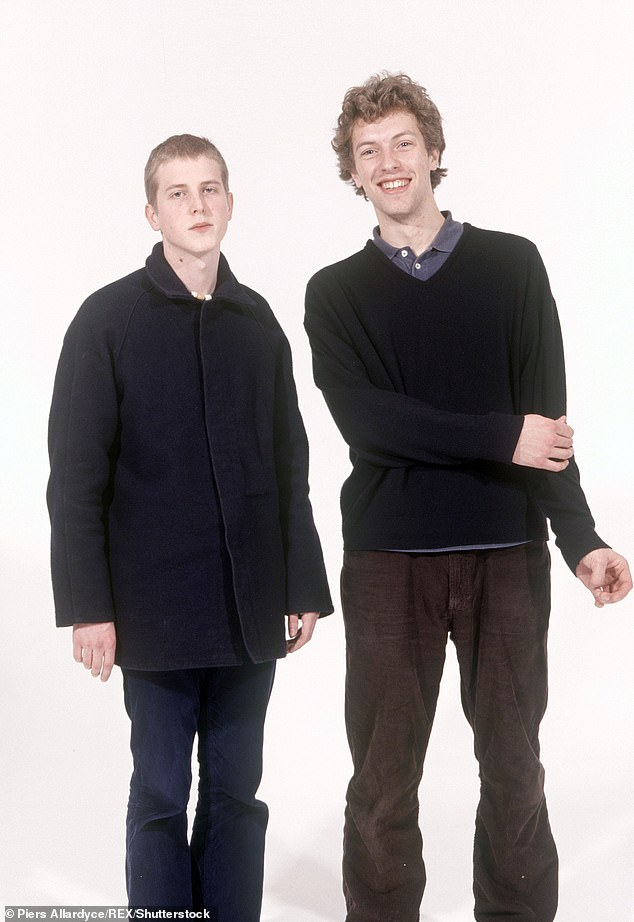 Martin (pictured right) said he was bullied when he attended boarding school for being 'closed minded' and a 'zealot'
