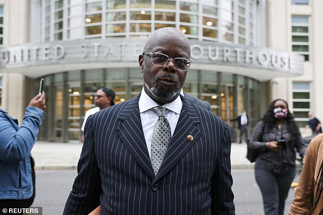 Defense attorney for R. Kelly, Deveraux Cannick leaves Brooklyn federal court for singer R. Kelly's sex abuse trial at Brooklyn's Federal District Court in Brooklyn on Thursday