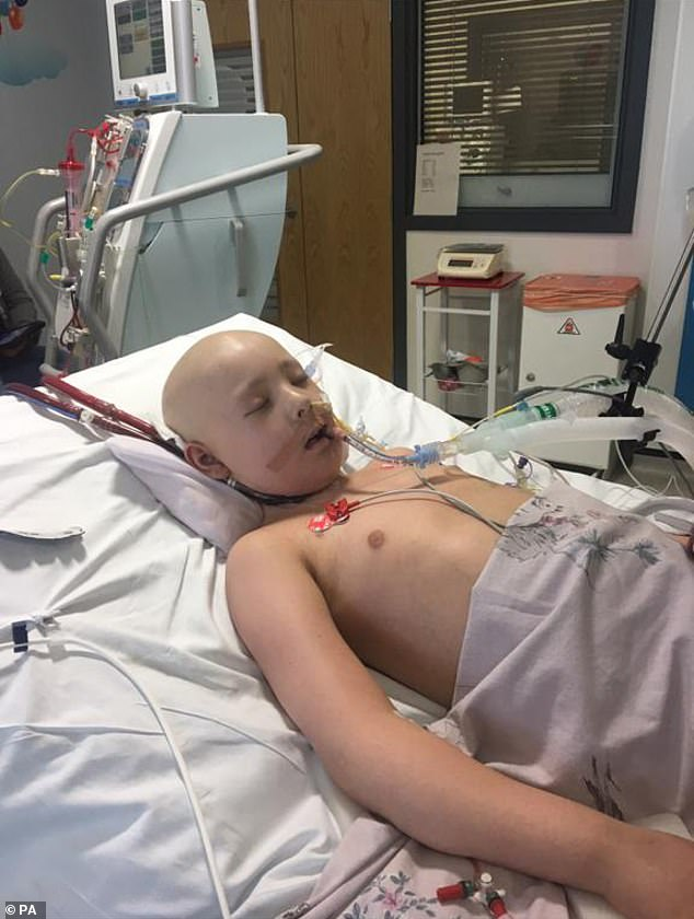 Milli Main, 10, died in the hospital in 2017 after catching an infection following stem cell treatment which left her leukaemia in remission