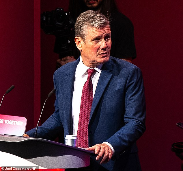 Sir Keir Starmer's (pictured) reforms to the way party leaders are elected are not going to be voted on at the Labour party's conference this weekend
