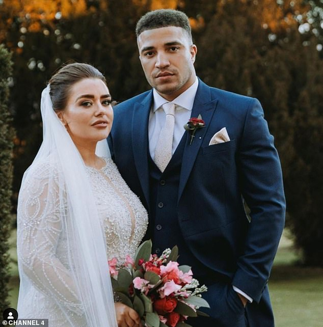 Married at First Sight's Joshua Christie had 'no idea' his wife Amy Christophers was a former porn star when they wed last month.