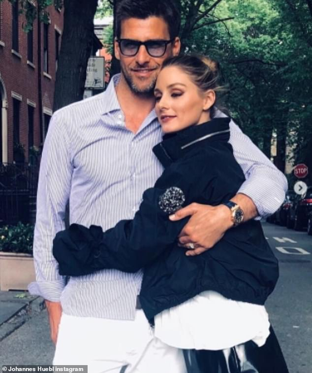 Influencers: The socialite is married to German model Johannes Huebl, 43, and the couple have remained in the Big Apple throughout the pandemic