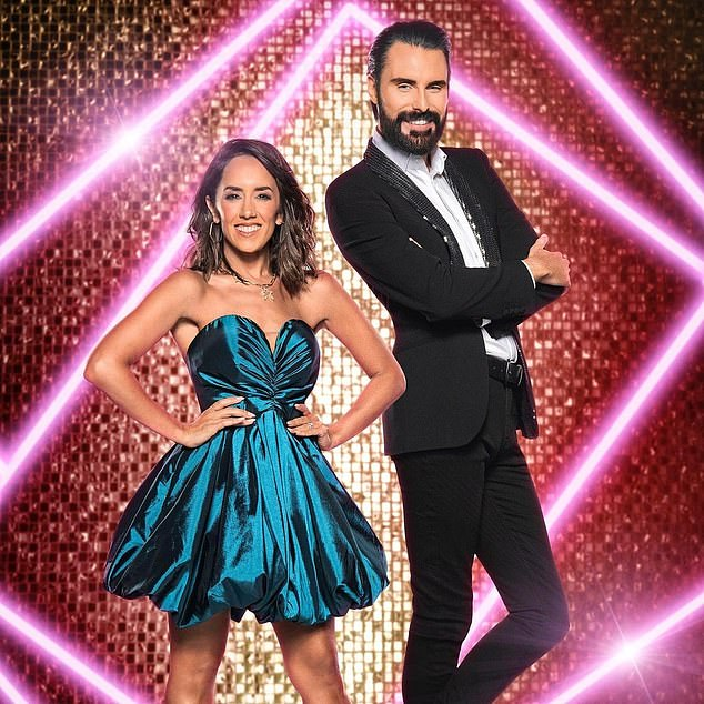 Co-presenters:It comes after Rylan and Janette Manrara have been seen for the first time together as they prepare to present Strictly Come Dancing's It Takes Two next week