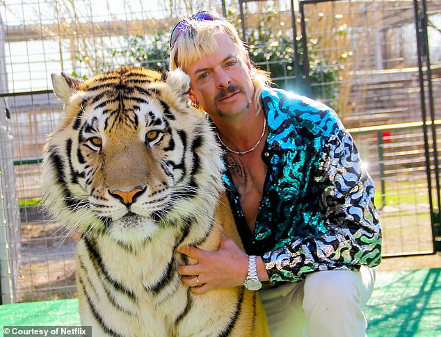 Fan favorite series: The trailer showed a number of clips from the show's critically acclaimed first season which centered around Joe Exotic, a big cat collector who was convicted of a hiring two men to murder a rival and a number of animal abuse crimes