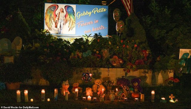 The vigils were held on Friday, ahead of Petito's funeral and cremation services on Monday